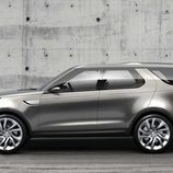 Land Rover Discovery Vision Concept - estudio lateral