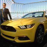 Ford Mustang 2015 en la terraza del Empire State - presentación
