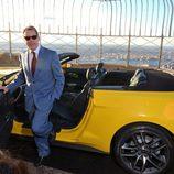 Ford Mustang 2015 en la terraza del Empire State - vistas