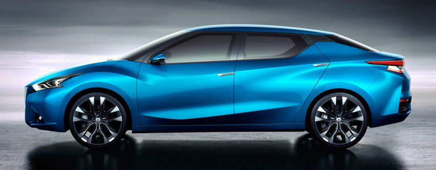 Nissan Lannia Concept - perfil