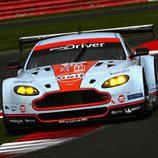 El Aston Martin #95 ganador en GTE Am en Silverstone