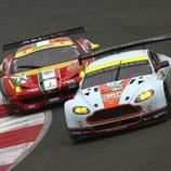 La batalla en GTE Pro en Silverstone fue apretada
