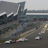 La magia del WEC en la recta de Silverstone