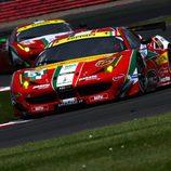 AF Corse sumó un podio en Silverstone