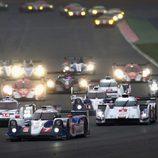Salida del WEC 2014 en Silverstone