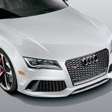 Audi RS7 Dynamic Edition - Frontal blanco
