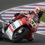 Michele Pirro en la GP14 de Crutchlow en Termas