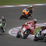 Tráfico en los FP1 de MotoGP en el GP de Argentina