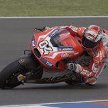 Andrea Dovizioso rompió el motor Ducati en los FP2