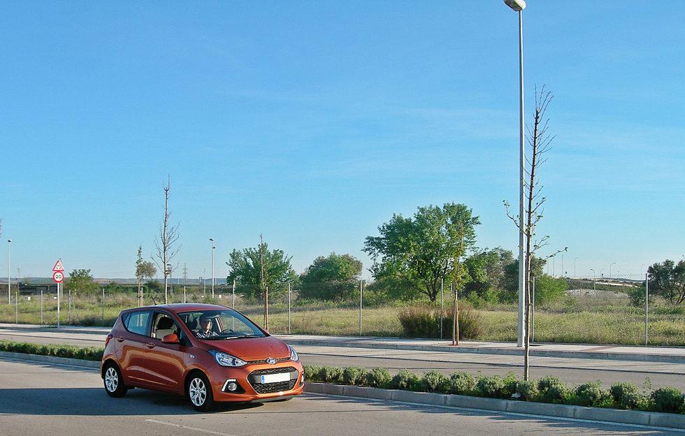 Prueba del Hyundai i10