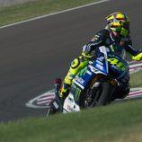 Rossi saluda tras la clasificación en Argentina