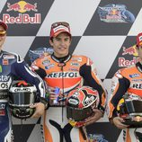 Los tres mejores de la Q2 del GP de Argentina