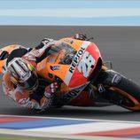 Dani Pedrosa, con ritmo y 3º en la Q2 de Argentina