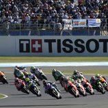 Salida del GP de Argentina de MotoGP 2014