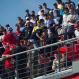 Los fans se han volcado en el GP de Argentina