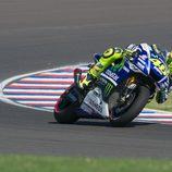 Valentino Rossi en el cuarto puesto en Termas