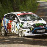 Ángel Paniceres - Salvador Belzúnces - I Rally Concello de Curtis