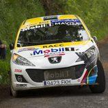 Jordi Salinas - Miguel Arrebola - I Rally Concello de Curtis