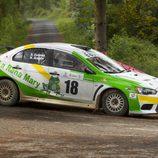 Dany Estévez - Nuria Aragón - I Rally Concello de Curtis