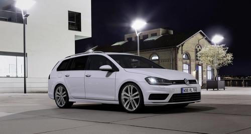 Volkswagen Golf Variant R-Line - Frontal