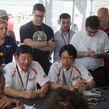 Rueda de prensa de Bridgestone en el GP de España