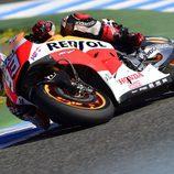 Marc Márquez fue el más rápido en el FP2 del GP de España