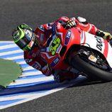 Cal Crutchlow se ha probado en los FP1 de Jerez