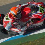 Michele Pirro sigue mejorando en el GP de España