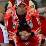 Reunión en Ducati en torno a Andrea Dovizioso