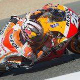 Dani Pedrosa, rápido y con ritmo en Jerez