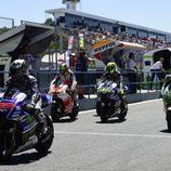 Todos los pilotos salen al FP4 de MotoGP en Jerez