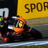 Aleix Espargaró quinto en la Q2 de Jerez