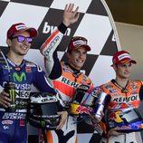 Primera fila de salida para MotoGP en Jerez