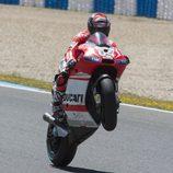 Andrea Dovizioso sexto en parrilla del GP de España