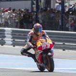 Récord absoluto de pista en Jerez para Marc Márquez