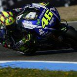 Valentino Rossi cuarto en parrilla en Jerez
