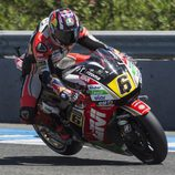 Stefan Bradl finalizó séptimo en la Q2 en España