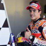 Marc Márquez poleman de MotoGP en Jerez