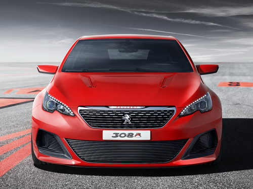 Peugeot 308 R Concept - Frontal agresivo