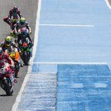 Cinco pilotos luchando por el quinto puesto en Jerez