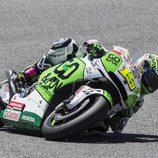 Primeros puntos de Álvaro Bautista en Jerez