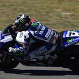 Jorge Lorenzo fuera del podio de MotoGP en el GP de España