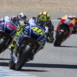 La pelea por el podio del GP de España