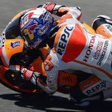 Dani Pedrosa remontó al final en Jerez