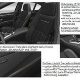 Detalles del BMW M5 30 Aniversario - Interior
