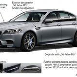 Detalles del BMW M5 30 Aniversario - Exterior