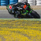 Bradley Smith en el test post-GP en Jerez