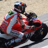 Michele Pirro asume el peso del trabajo para Ducati