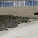 Nueva caída de Andrea Iannone en el test post-GP