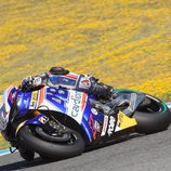 Karel Abraham en el test post-GP de Jerez